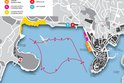 Red Bull Air Race track in Rovinj